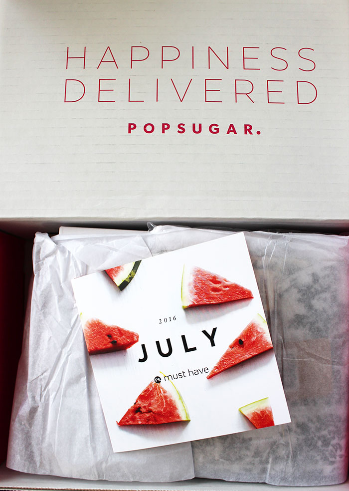 POPSUGAR #MUSTHAVEBOX (July)