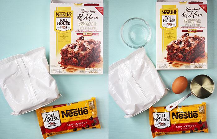 Parfait de brownie - NESTLÉ® TOLL HOUSE® baking mixes