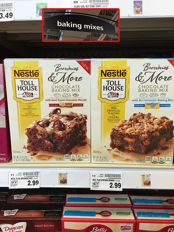 Parfait de brownie - NESTLÉ® TOLL HOUSE® baking mixes - Kroger