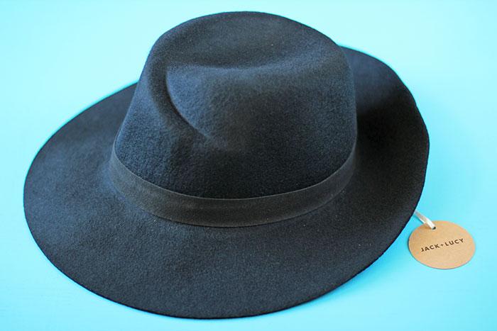POPSUGAR #MUSTHAVEBOX SEPTEMBER - JACK & LUCY Bicoastal Wide Brim Hat
