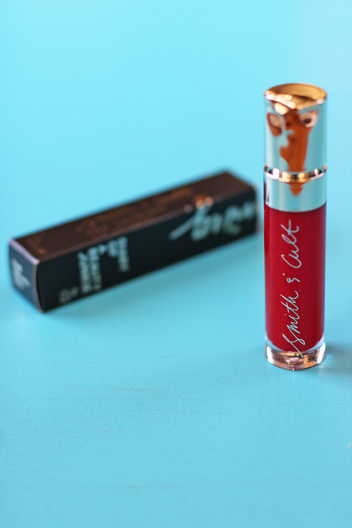 POPSUGAR #MUSTHAVEBOX SEPTEMBER - SMITH & CULT Lip Lacquer in The Warning