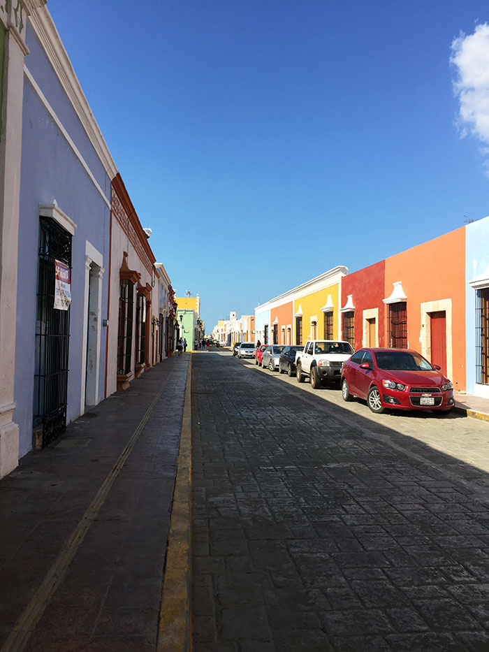 Calle 59, city of Campeche, Mexico