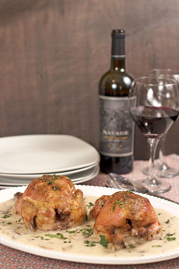 cornish-hens-with-mushrooms-and-wine-sauce03