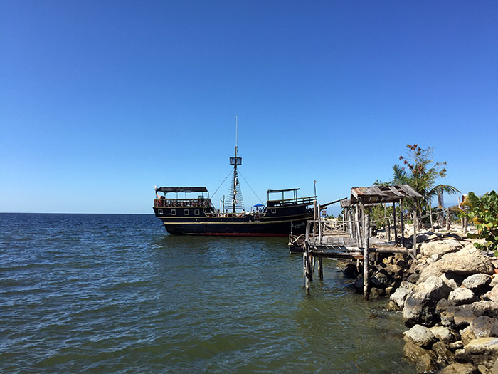 """Pirate galleon """"Lorencillo"""""""