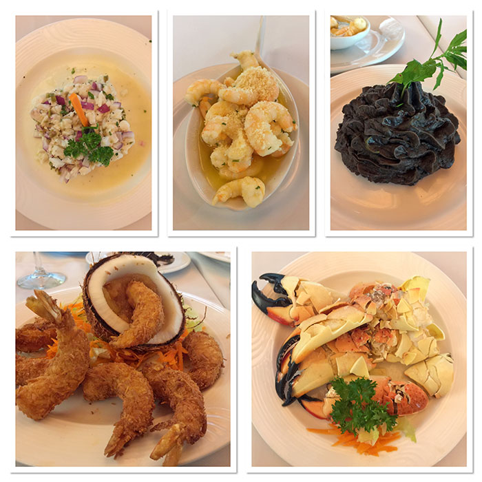 Lunch at La Pigua Restaurant