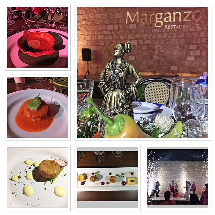 Dinner at Marganzo Restaurant, Campeche, México