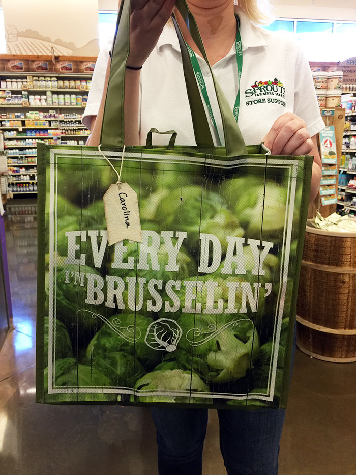 Sprouts Farmers Market - Shopping bag