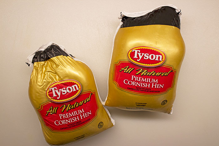 Tyson® All Natural Premium Cornish Hens