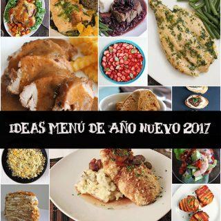 Ideas de menú de año nuevo
