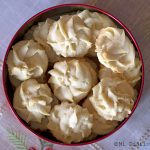 Holiday vanilla cookies