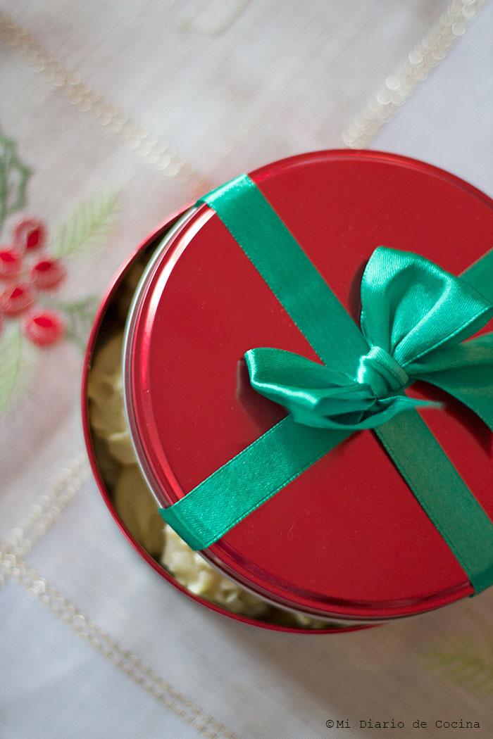 Galletas navideñas de vainilla