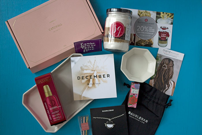 POPSUGAR #MUSTHAVEBOX December 2016