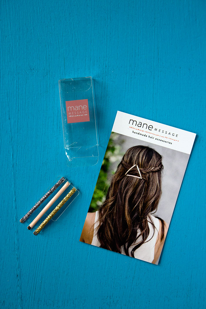 MANE MESSAGE Date Night Bobby Pins