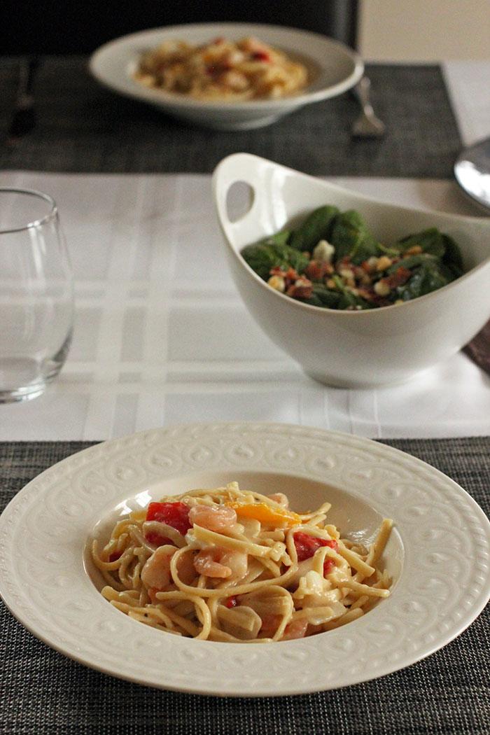 Bertolli® Shrimp Scampi & Linguini Pasta