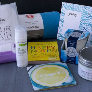 POPSUGAR #MUSTHAVEBOX JANUARY 2017