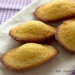 Galletas Madeleine de limón