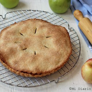 Pie de manzanas sin gluten