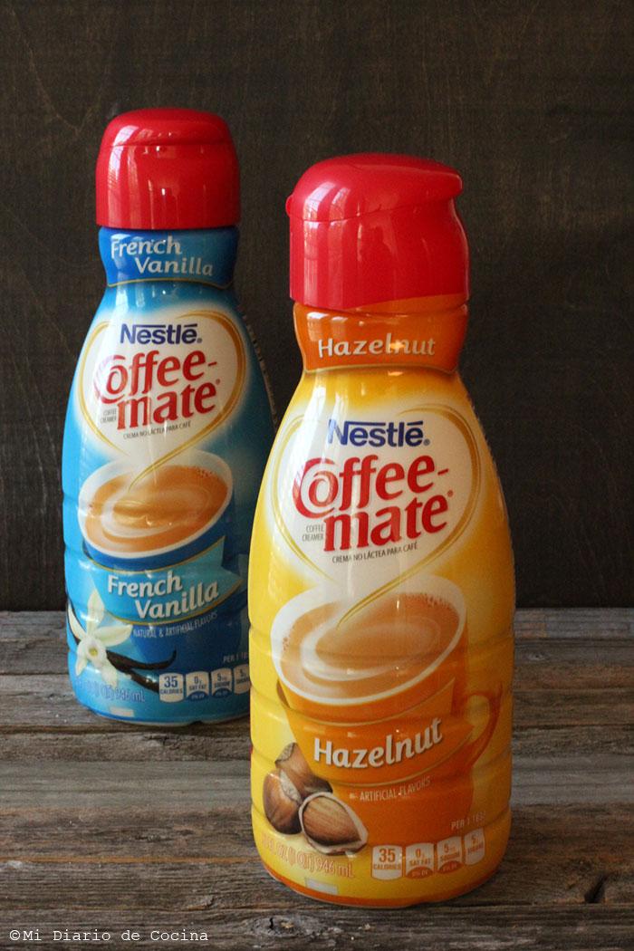 Creamers Coffe-mate de Nestlé