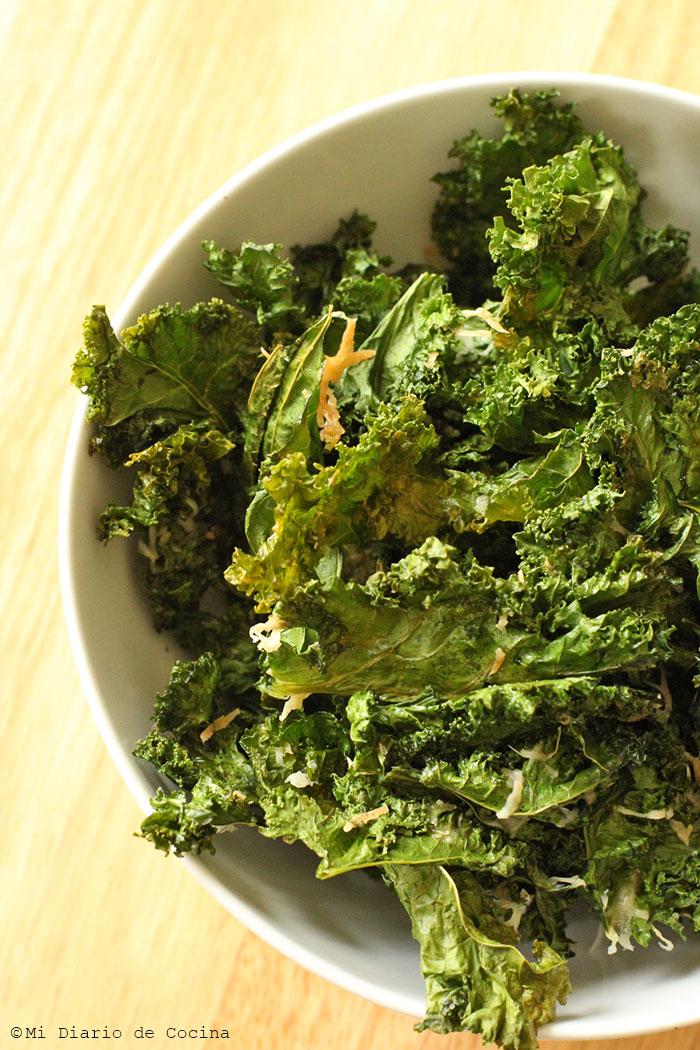 Cómo hacer chips de Kale