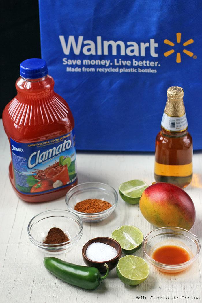 Mango Micheladas with Jalapeño - Ingredients