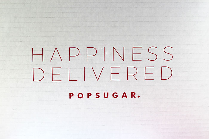 POPSUGAR #MUSTHAVEBOX AUGUST 2017