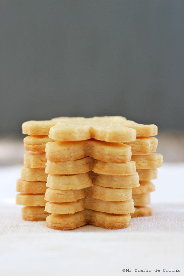 Galletas de limón para Navidad