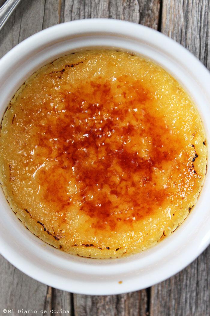 Crème brûlée de maracuya