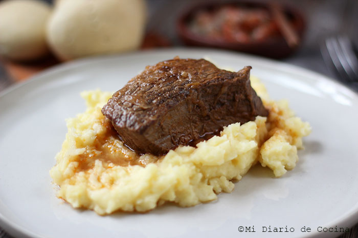 Carne plateada a la olla