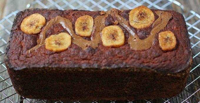 Queque de banana sin gluten