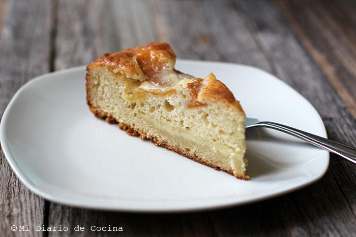German-Style Peach Pie