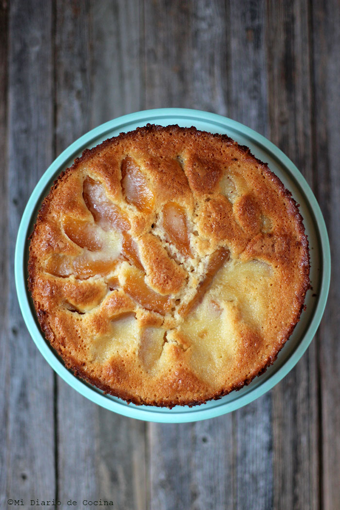 German-Style Peach Pie