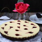 Cheesecake de vainilla y frambuesa