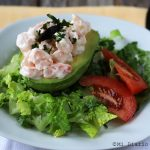 Cardinal Stuffed Avocado