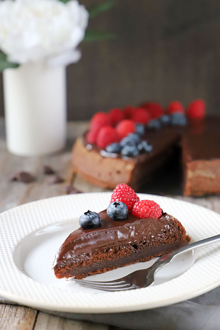 Gluten-Free Simple Chocolate Cake