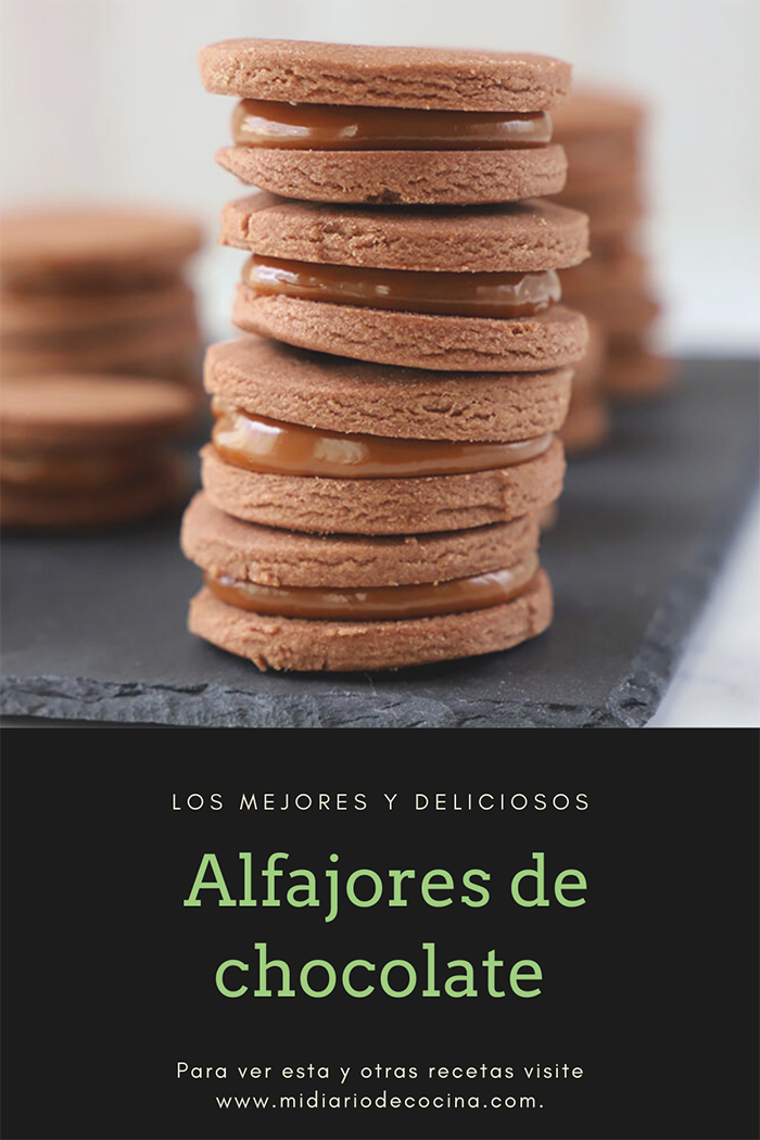 Alfajores de chocolate