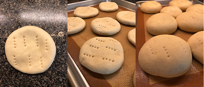 Pan amasado fácil