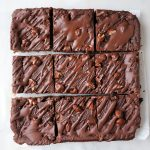 Black beans brownie