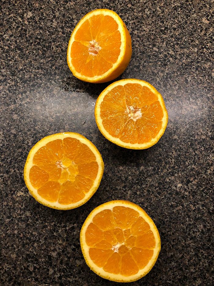 Queque de naranja fácil