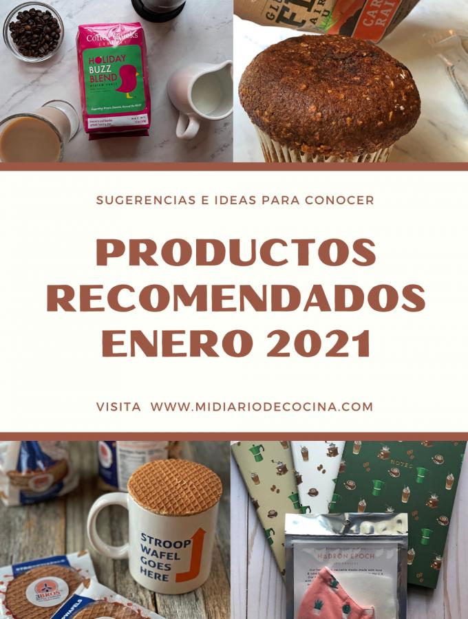 Productos recomendados de Enero 2021