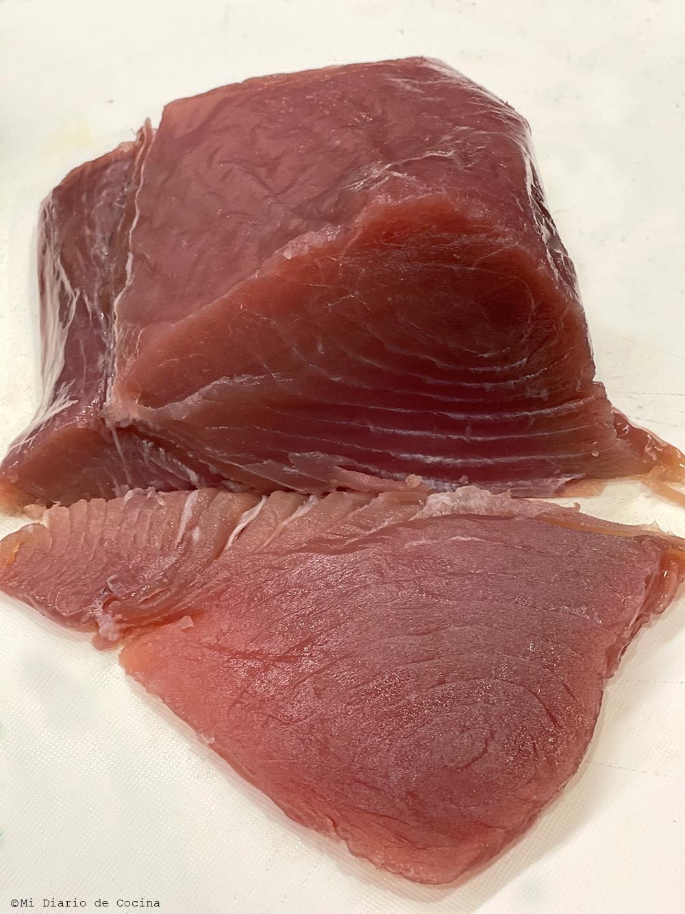 Poke de atún