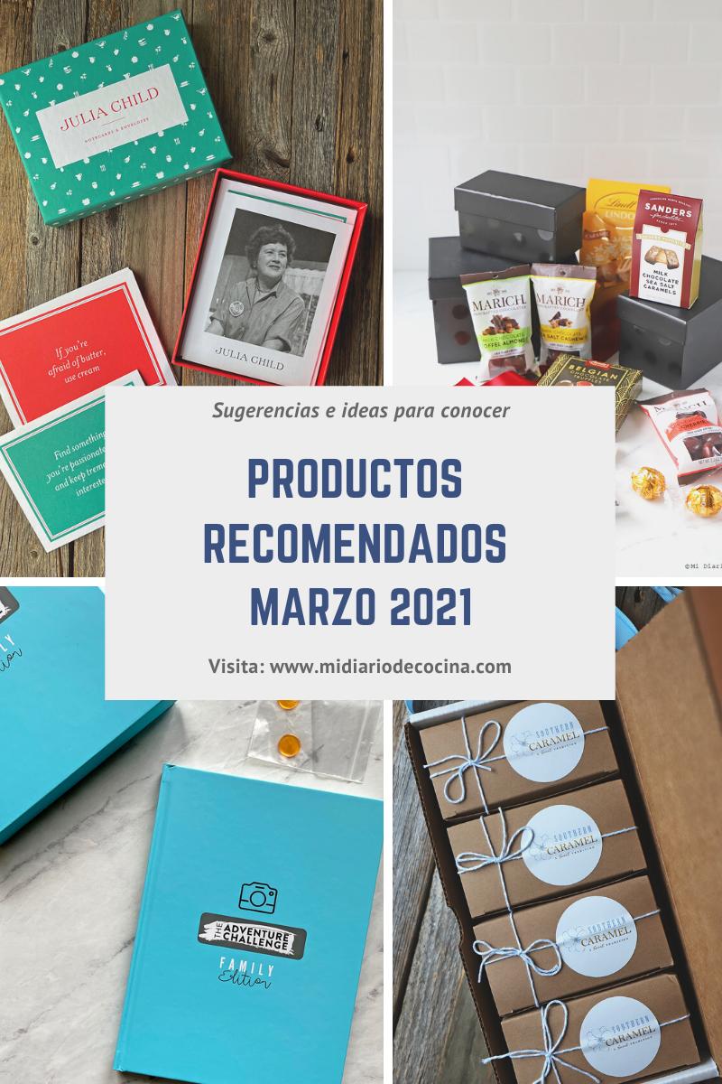 Productos Recomendados Marzo 2021