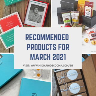 Recommended products March 2021