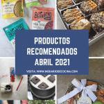 Productos recomendados abril 2021