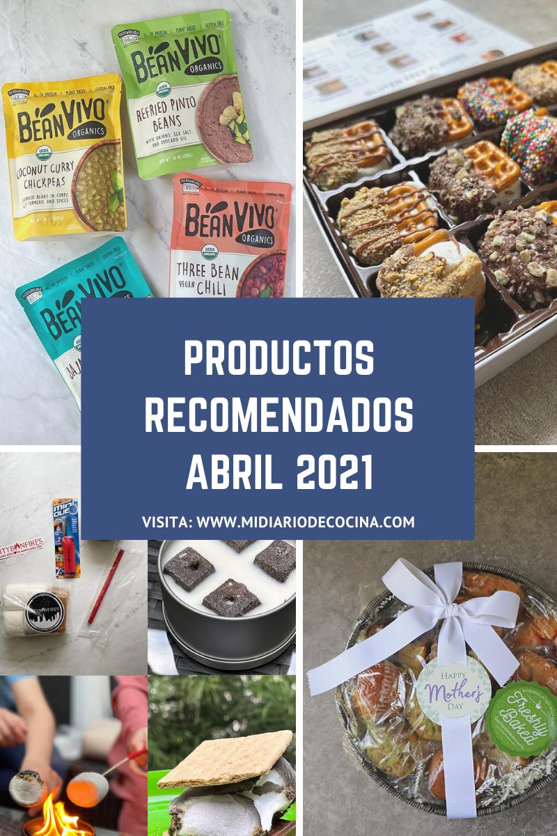 Productos recomedados abril 2021