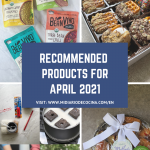 Recommended Products for April 2021