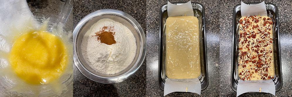 Banana nut bread - Ingredients