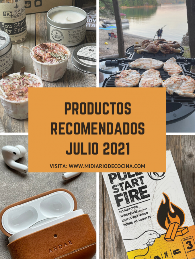 Productos recomendados julio 2021