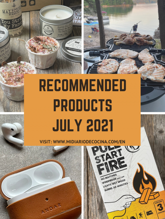 Recommended products July 2021