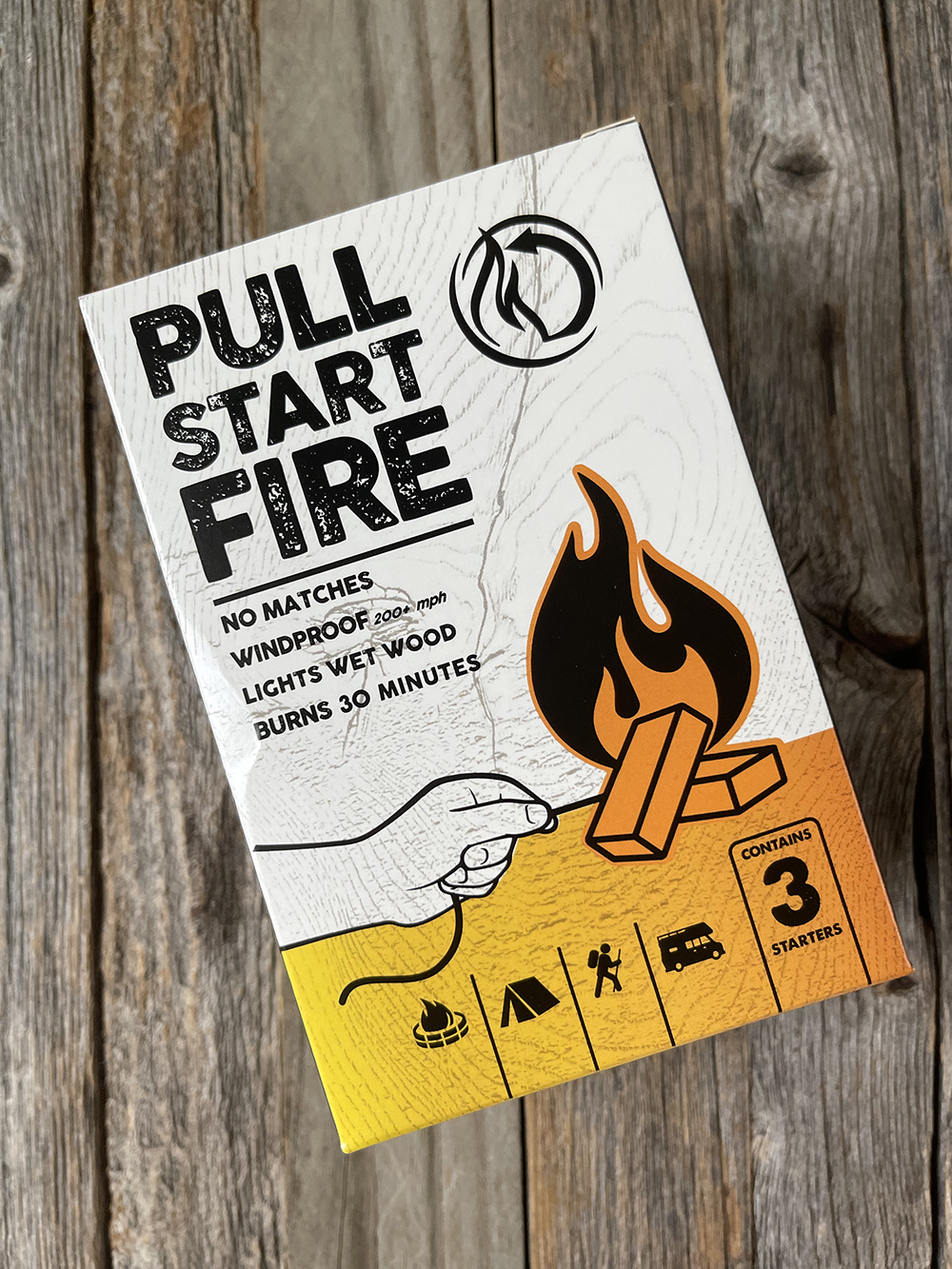 Recommended products July 2021 - Pull Start Fire