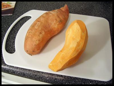 Puré de camote o papa dulce (Sweet potatoes) - Preparación